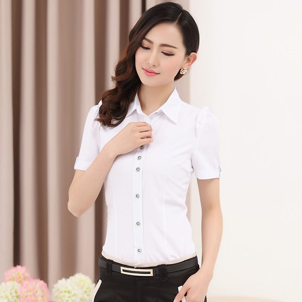 女式职业衬衫 职业衬衣定做  女式长袖拼时尚衬衫定做 售后无忧 免费修改