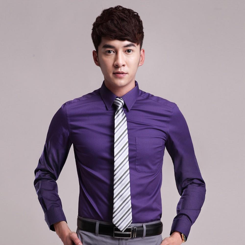 男士职业衬衫 职业衬衣定做  男士长袖衬衫定做 售后无忧 免费修改