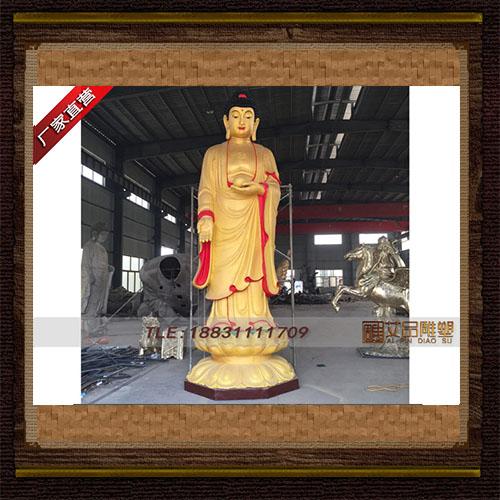 供应   5米释迦摩尼站像铜雕像   厂家直销