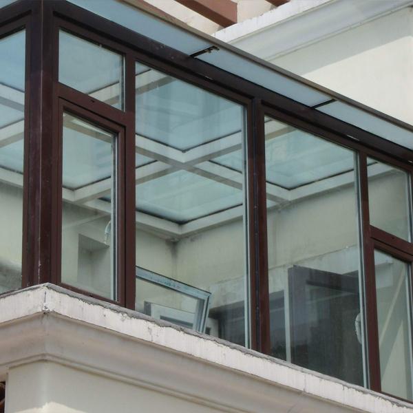别墅断桥窗安装实例