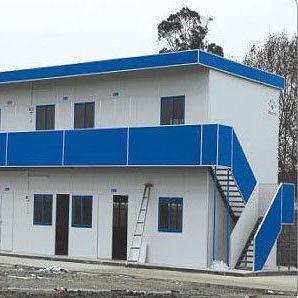 北京祈虹彩钢厂家直销低价环保新型工地防火保暖彩钢活动房
