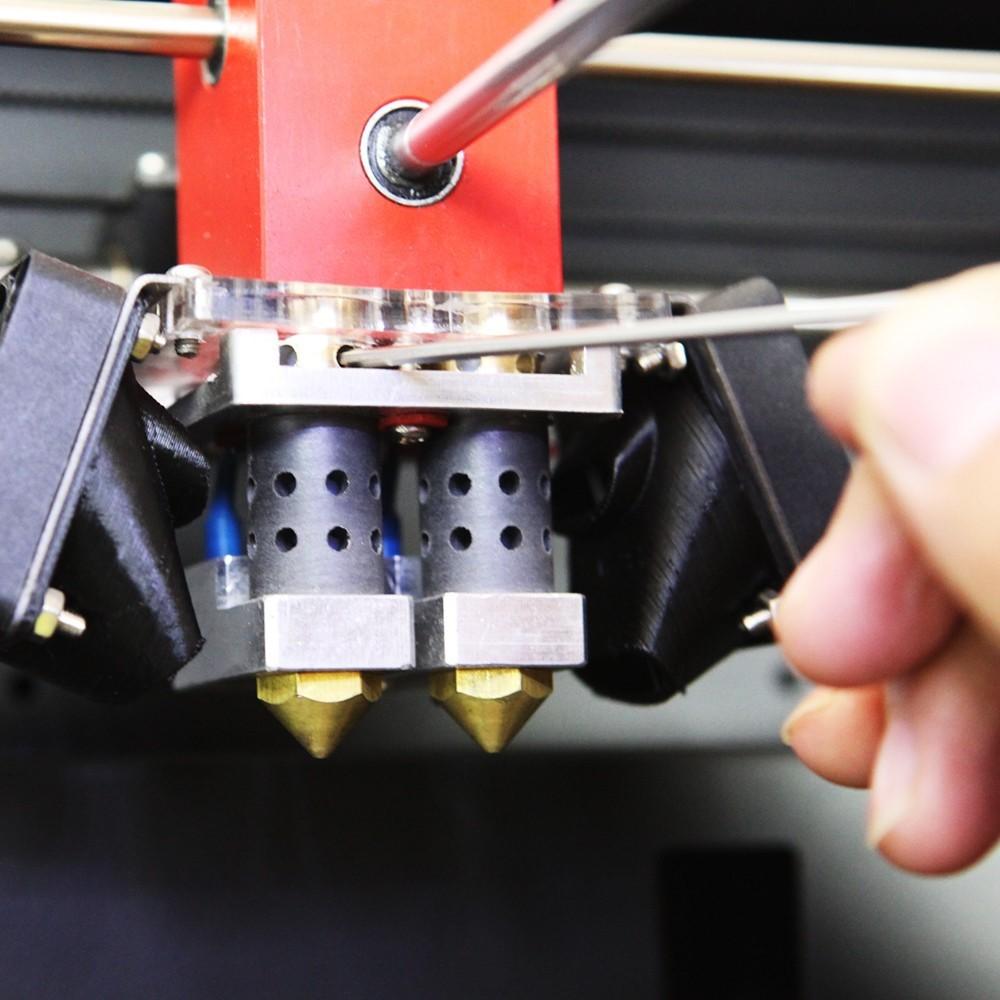 botbd_科瑞特creatbot 3d 打印机 大尺寸 双喷头 300*250*520mm 3d打印机