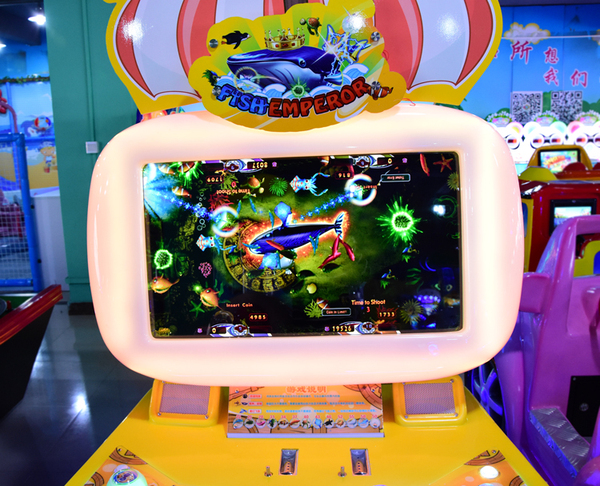 儿童游戏乐园设备_布努托新款儿童电玩 设备儿童 钓鱼机 儿童乐园 大型 游戏