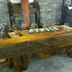 老船木茶桌特价船木茶桌客厅茶桌椅组合图片办办公室茶桌实木茶桌