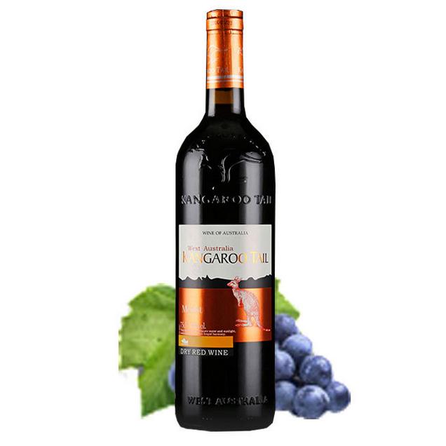 厂家直供澳洲红酒 新世界干红葡萄酒 长尾袋鼠红酒