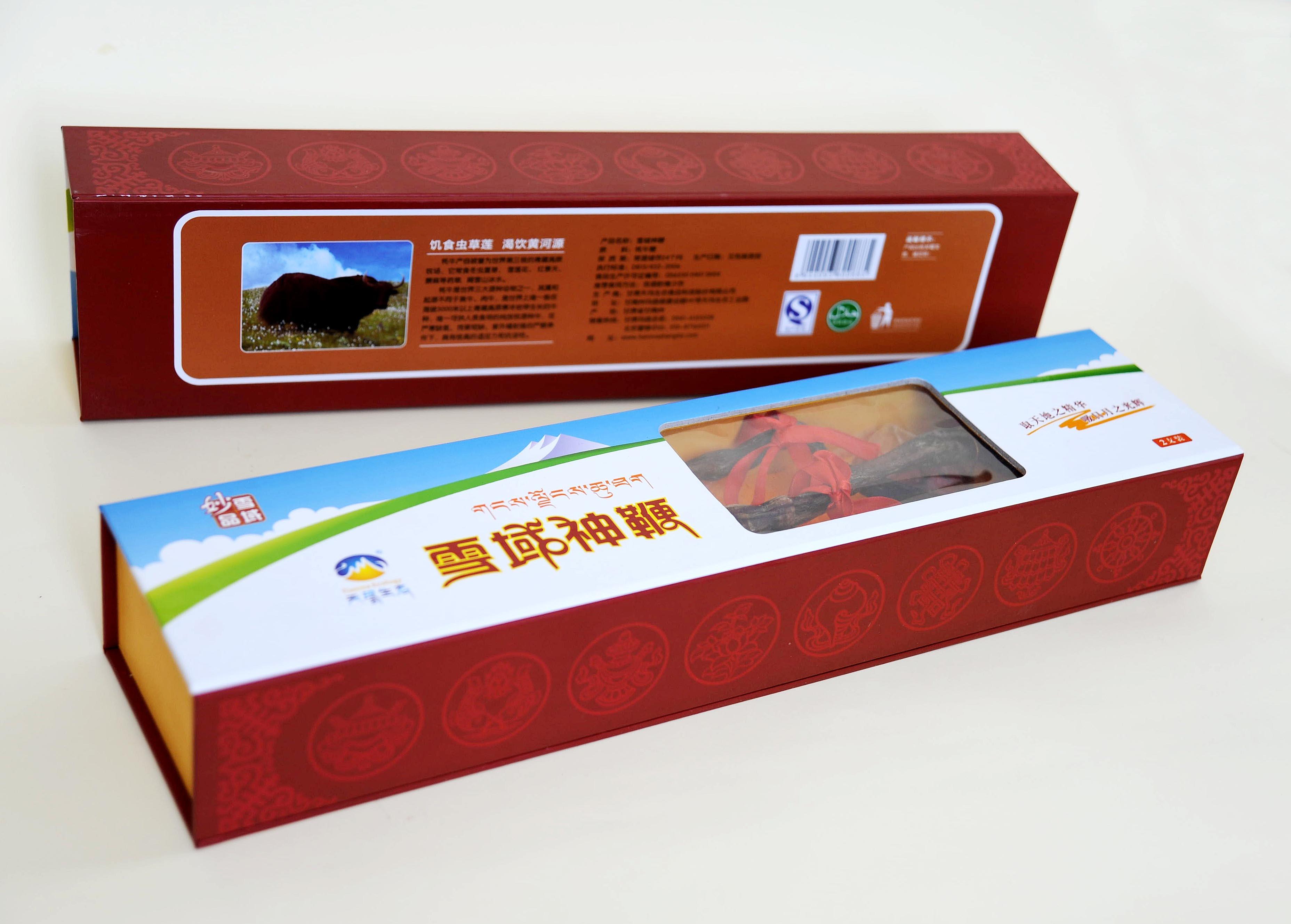 天玛生态 雪域神鞭2只礼盒装 特级牦牛鞭 送礼佳品