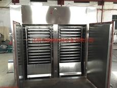 热风循环烘箱 不锈钢电热烘箱 双门双车烘箱