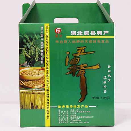 传统工艺农家山珍纯天然绿色食品房县特产豆油精(精装1500克)