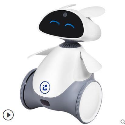 小萝卜智能机器人儿童陪伴早教学习机视频语音对话高科技跳舞小胖
