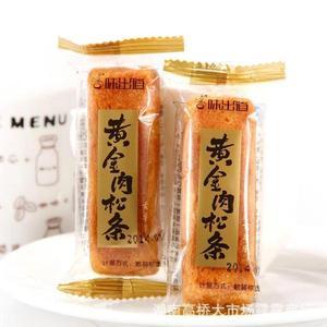 味出道黄金肉松条 古早风味 比肉松饼好吃 整箱5斤 美味糕点批发