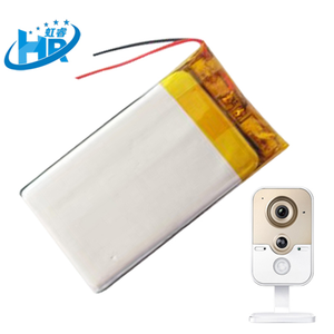 微型摄像机锂电池 监控摄像机锂电池  3.7V 300mAh