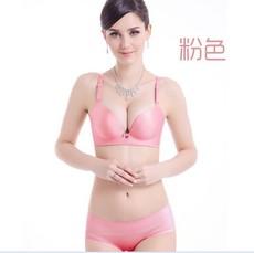 一片式少女无钢圈无痕内衣文胸薄款胸罩聚拢小胸收副乳透气防下垂