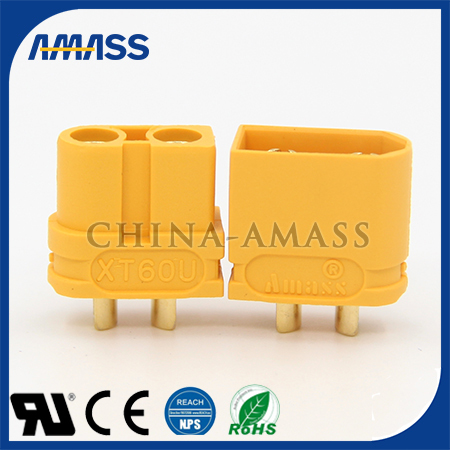 常州AMASS直销XT60U电容接头 UL安规认证
