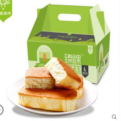 甜蜜森林 无添加臻裸蛋糕 手撕小面包早餐整箱糕点心孕妇零食食品