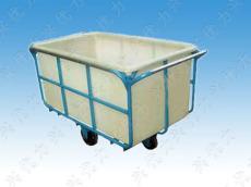 厂家直销:玻璃钢带轮子周转印染车 洗衣房专用玻璃花印染车 运输周转玻璃纤维印染车