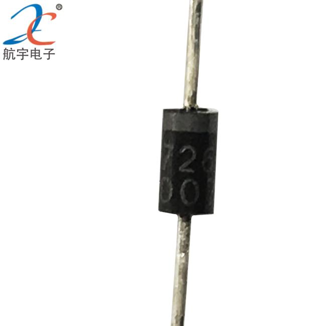 航宇电子  硅整流二极管  0.7×52编带  IN4007