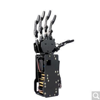 仿生机器人手掌uHand 机械手臂 大扭力机械臂手指 创客教育培训 全套手掌设备