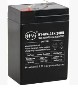 供应6V4.0AH 600克 童车专用蓄电池 灯具蓄电池