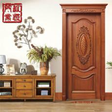 【毅恒木门】实木烤漆房间门|橡木实木套装门