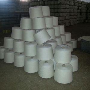 40支棉绢丝混纺纱 85%棉15%绢丝 棉绢丝针织纱