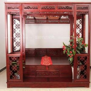 成都中式仿古家具定做 红木家具 古典家具 拔步床
