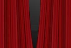 厂家直销高档舞台幕布,天鹅绒幕布