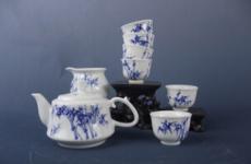 景德镇功夫茶具 陶瓷茶具套装 新款礼品创意 高档茶具批发