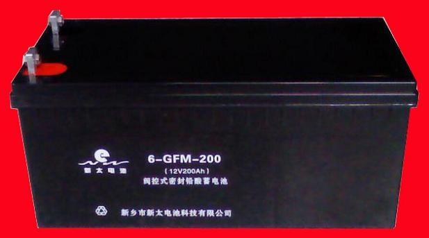 新太电池6-GFM-180固定型阀控式密封铅酸蓄电池