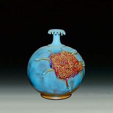 石榴瓶--东方瓷辉现代精品异国风情高端送礼 收藏 摆件