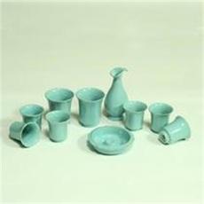 天青总裁10件套 仿高古怀旧古典传统茶具精品