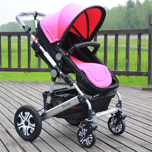 小阿哥高景观婴儿推车 可躺可坐避震