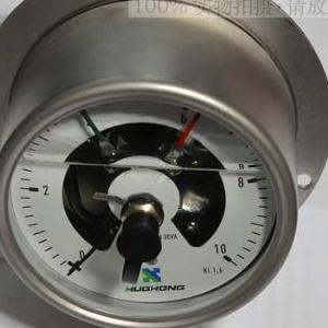 不锈钢压力表 耐震电接点膜片压力表 电接点压力表