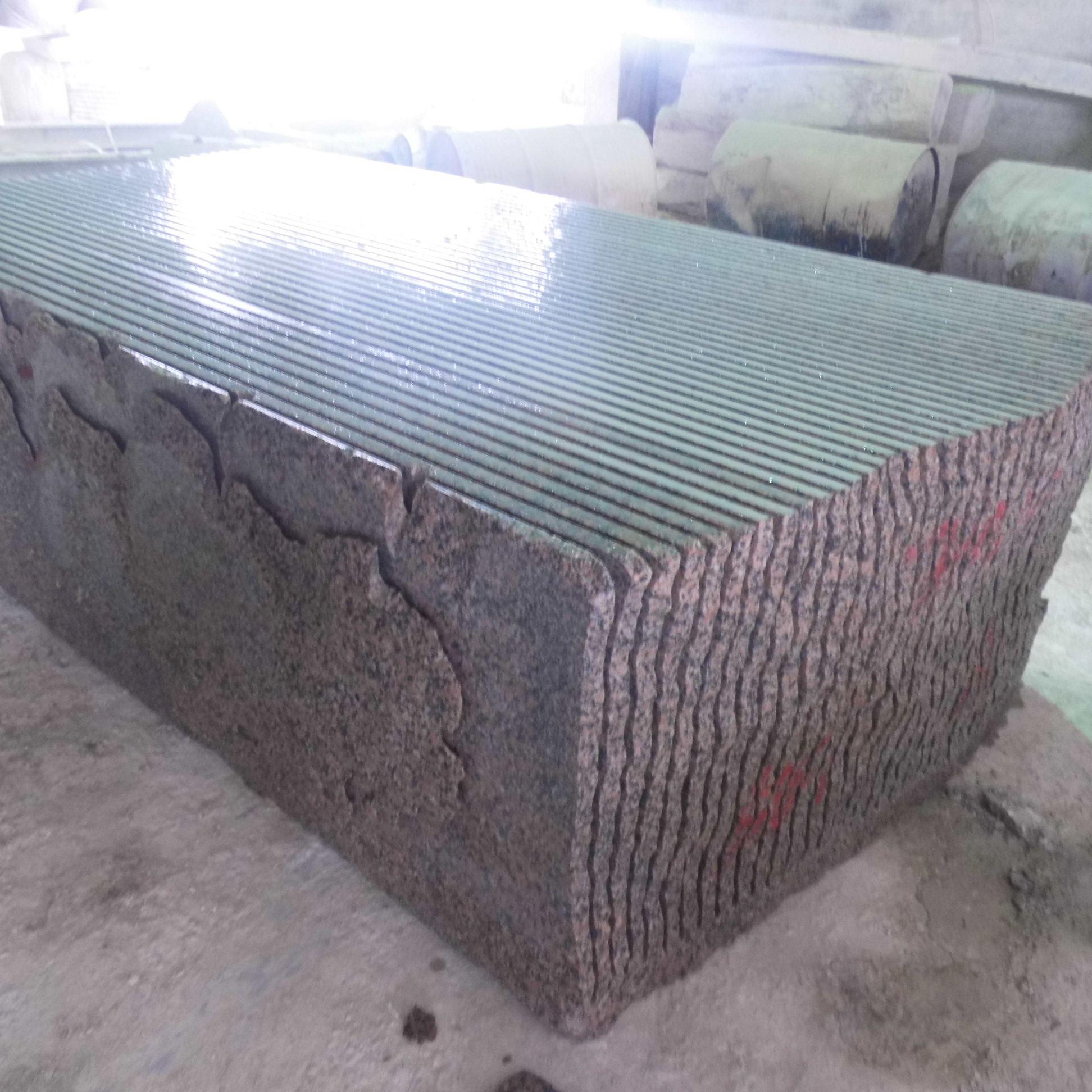 鲁山红石材河南虾红荔枝面花岗岩专业生产厂家