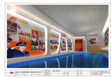 大连国税局展厅设计图片|展厅案例-红方块展览