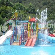 广州潮流提供儿童水上乐园设备--儿童互动水屋