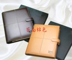 沈阳工作手册厂 定制活页笔记本 皮革商务记事本
