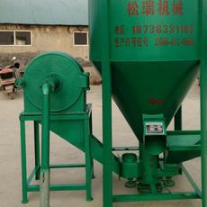 专业生产饲料粉碎搅拌机  饲料机 15千瓦电机200 卫辉市饲料加工机械