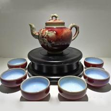 李亚洲大师作品 成套精美古典传统茶具 礼品