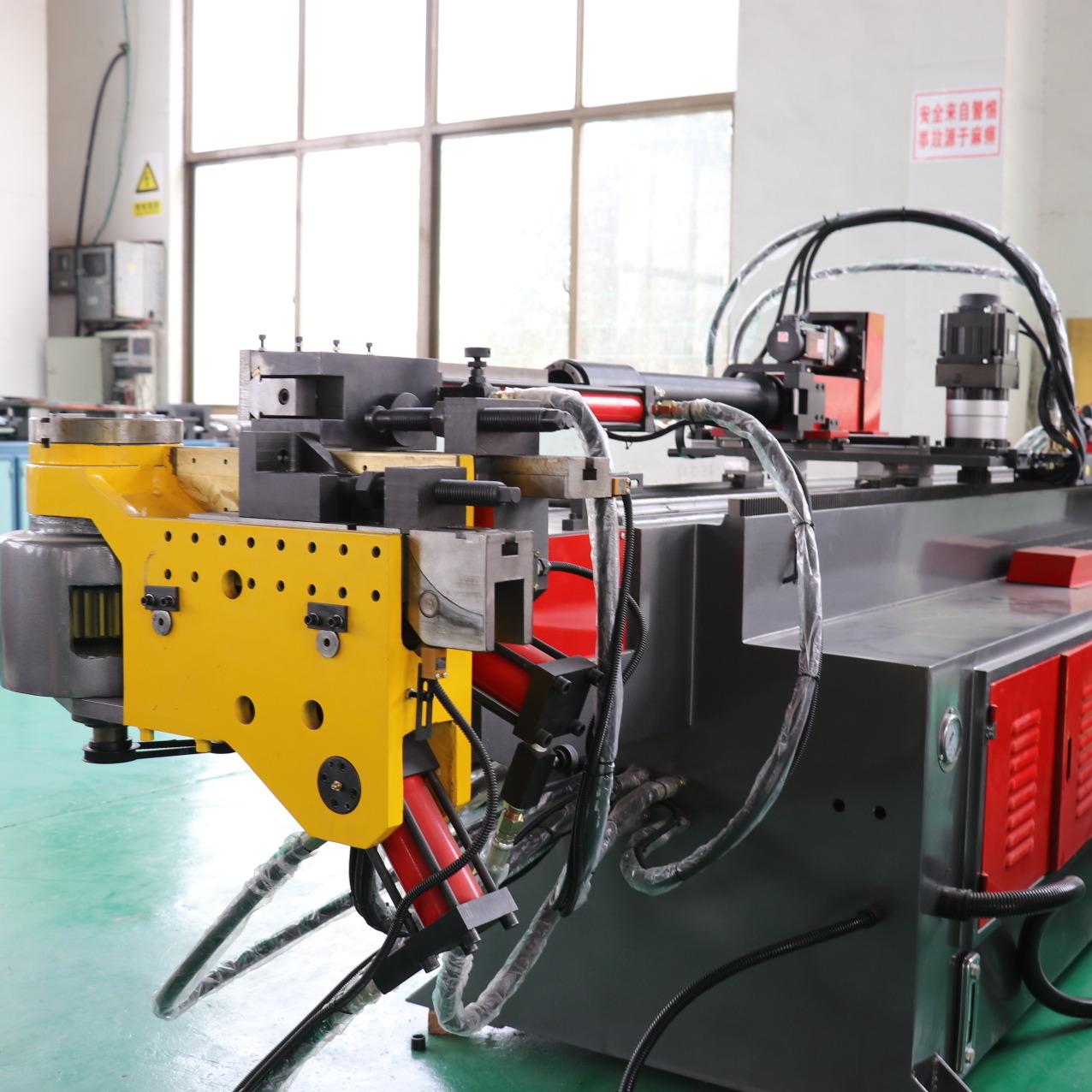 道尔顿工业DW38CNC-2AX1S全自动弯管机 数控弯管机 三维立体弯管机 空间转角弯管机