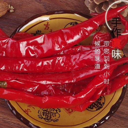 供应 重庆正宗二荆条泡椒 散装灯笼泡椒 25KG包邮 炒菜不二之选