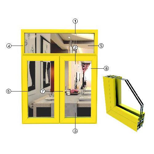 供应安义永 高铝材门窗 铝型材