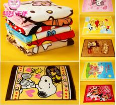 儿童毛毯拉舍尔卡通童毯 宝宝毯子冬季厚 梦妙天使厂家直销 批发