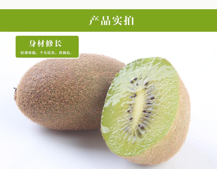 武功县翠香猕猴桃营养丰富香甜爽口 厂家直销   果肉深绿 无病虫害