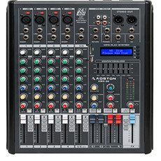 演出设备6路调音台带效果带MP3专业KTV舞台婚庆调音台