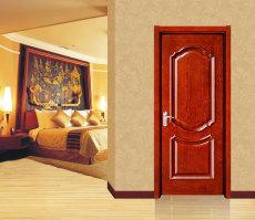 广东惠安琚木门外扣线实木套装门