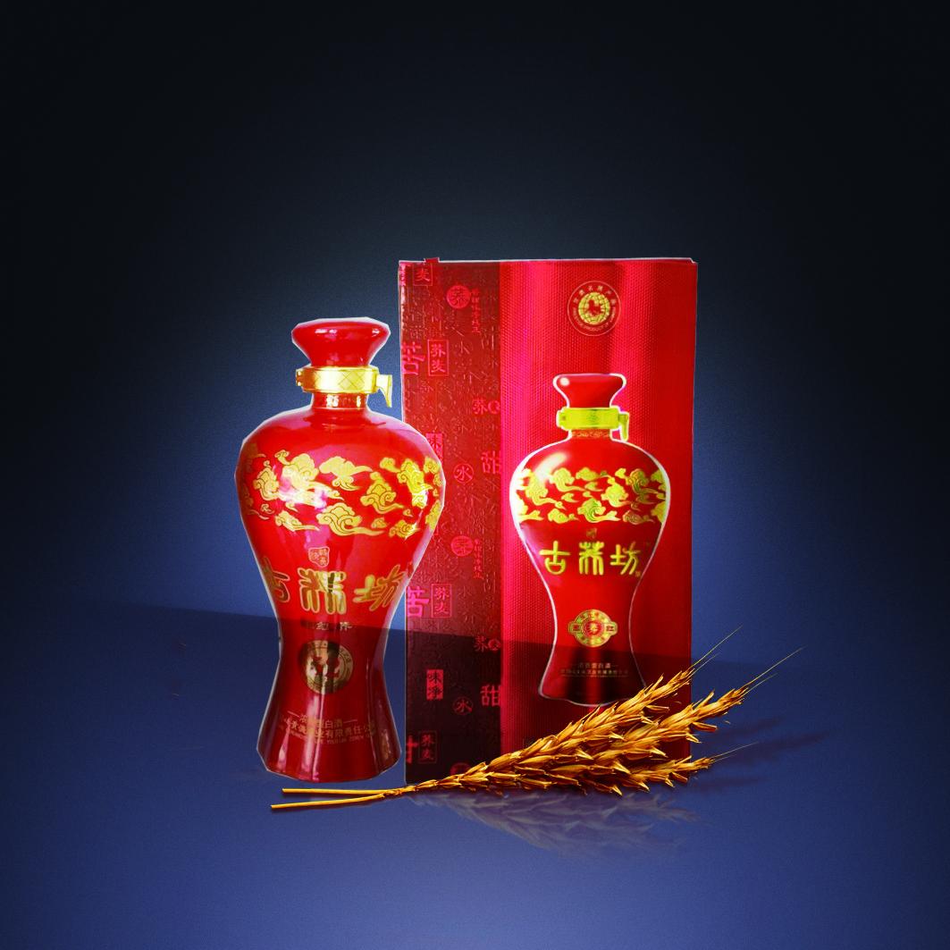 古荞坊 52°国荞红500ml浓香型荞麦白酒