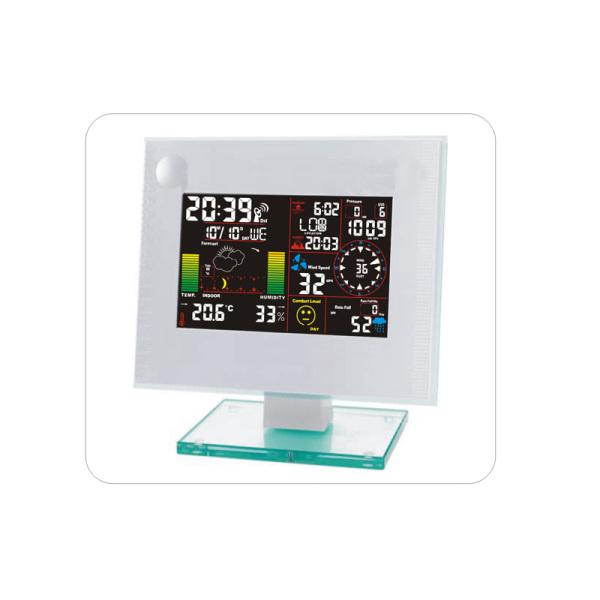 平价版无线温湿度雨量计气压天气预报日出日落电波图片