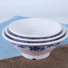 供应 中式青花瓷螺纹味千拉面碗大碗汤面碗