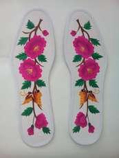 陕北安塞特精绣花鞋垫 纯手工 39--43码 造型美观,绣工精致