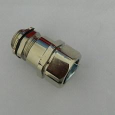 福莱通铜镀镍锁紧电缆软管接头 IP67防护等级 锌合金镀镍电缆软管接头